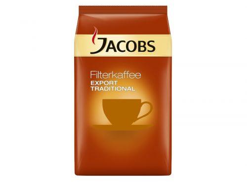 Neu im Shop: Jacobs Export Traditional – Filterkaffee und Caffè Crema Ganze Bohne
