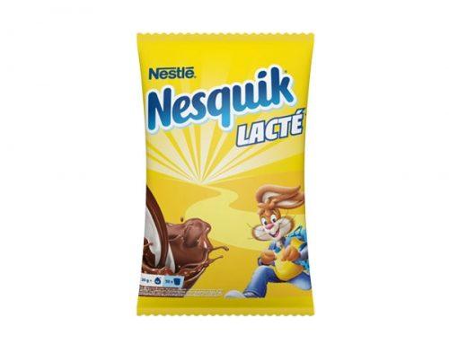 Nestlé Cacao Mix geht, Nestlé Nesquik Lacté kommt